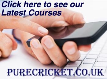 Latest cricket courses